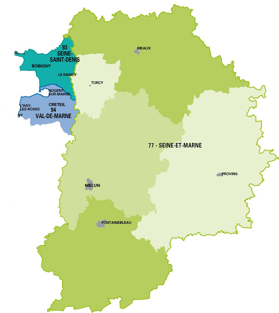Intervention en Ile-de-France (77, 93 et 94)